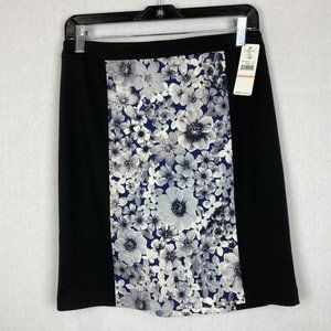 LAUNDRY BY SHELLI SEGAL Floral Skirt NWT